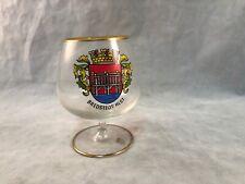 Vintage Beer Cognac Shortie Taster Glass Bredstedt Hlst.