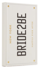 Kate Spade New York Bride2be lined Journal Notebook  Bride 2 Be - NEW
