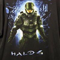 2012 Halo 4 Video Game Promo Short Mens Size 2XL Black Microsoft Military Gamer