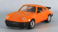 SOLIDO 1977 Porsche 930 (911) Turbo (Orange) 1/43 Scale Diecast Model RARE!