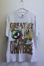 Vintage 1996 Marvin The Martian T Shirt Sz L Single Stitch Looney Tunes 90s