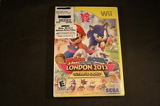 Mario & Sonic at the London 2012 Olympic Games (Nintendo Wii, 2011) NEW & SEALED
