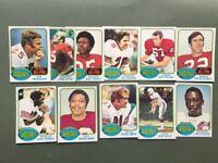 Lot cartes NFL St. Louis CARDINALS Topps 1976 1980 1981 Football Américain