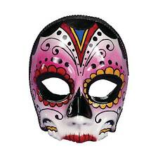 Adult Day of The Dead Mexico Festival Female Face Mask Costume Fm73641