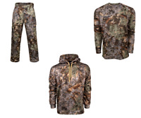 3pc Kings Camo Hunter Series Pants Shirt Hoodie Bundle Desert Shadow Big & Tall