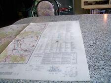 Militär Manöver Landkarte 1:50.000, Langenhagen, Militärgeographisches Amt, 1964