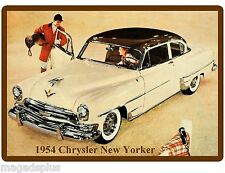 1954 Chrysler New Yorker  Auto Refrigerator / Tool Box Magnet Man Cave