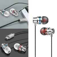 Kabelgebundene ohrhörer typ c inear kopfhörer mic stereo headset All für sa V9K