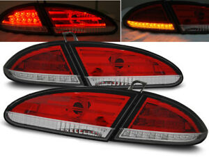 LED REAR TAIL LIGHTS LDSE11 SEAT LEON 2005 2006 2007 2008 2009 RED WHITE