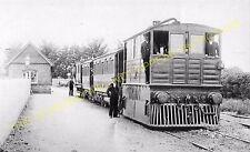 Upwell Railway Station Photo. Wisbech and Upwell Tramway. (15)