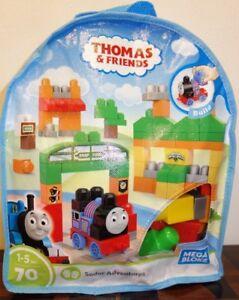 Mega Bloks Thomas & Friends Thomas Sodor Adventures Building Blocks Bag Xmas gif