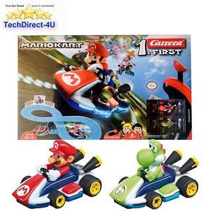Official Carrera wii Mario Kart Remote Control Car Race Track Mario vs Yoshi