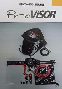 PROV - 650 DeVilbiss Pro Visor Air Fed Mask Latest Design **REPLACES PROV 600**