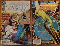 THE RAY #4,5 1994 LOT OF 2 COMIC VFNM DC