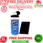 Plasma TV Wipes Flat Screen Cleaner LCD Laptop Tablets Monitor Cleaning 70 Count
