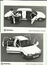 VAUXHALL ASTRA ASSESSMENT MODULE PRESS PHOTO 1985 BROCHURE RELATED 2. OF