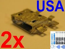 2x Lot of Micro USB Charging Port Charger For Motorola XT907 Droid Razr M 4G USA