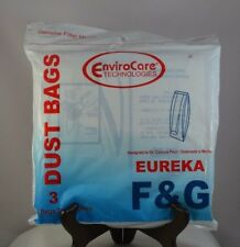 New 3 Pack Envirocare Eureka F & G Vacuum Cleaner Bags 216Sw Fast-Free Shipping