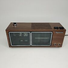 Panasonic Rc-6485 Am/Fm Flip Clock Radio Day-Date Digital Flipper Works Read!
