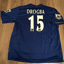 Chelsea , Drogba, Match Worn Centenary Shirt #15 V Blackburn 2005/6