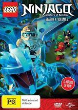 LEGO Ninjago - Masters of Spinjitzu : Series 4 : Vol 2 : NEW DVD