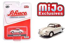 Schuco 1:64 MiJo Exclusives European Classics  Silver Porsche 356 Model 4300