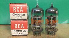 Pair of RCA Command 5751 NOS NIB Vacuum Tubes