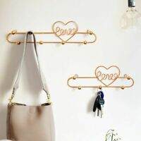 Key Hanger Holder Wall Hook Hanging Bags Clothes Organizer Home Decoration Rack