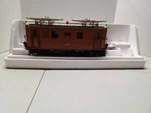 26/290 LGB 2045 Electric Locomotive with Working Pantographs - G Scale