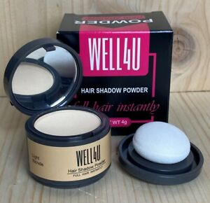 WELL4U - Haar Ansatz Puder - Make-up für Ihre Kopfhaut / in 11 Farben