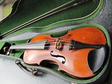 Alte 4/4 Violine mit Koffer und Bogen Joseph KLOZ- Innenzettel rissfrei,spielbar