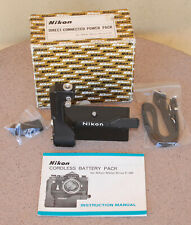 Nikon Cordless Battery Pack Grip for F36 Motor Drive Type 2 in box w strap F-36