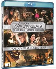 Jim Henson's Fantasy Film Collection 3 Movie Blu-Ray Set New Dark Crystal