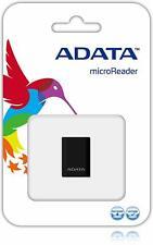 ADATA microSDHC USB Card Reader, Black (AM3RBKBL)