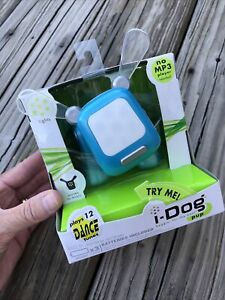 Hasbro IDog Pup Blue/Silver New In Package 2006 12 Dance Tunes