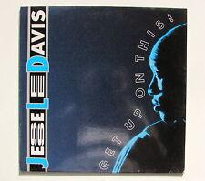 JESSE LEE DAVIS........GET UP ON THIS.........MAXI 45 T