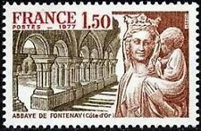 """FRANCE STAMP TIMBRE N° 1938 """" ABBAYE DE FONTENAY , CÔTE D'OR """" NEUF xx LUXE"""