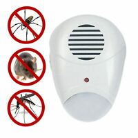 Plug In Ultrasonic Rodent Pest Repeller Mice Rats Ultra Sonic Repellent