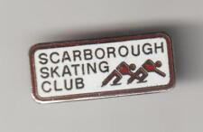 Scarborough Ontario Skating Club Metal Pin Pinbacks - VG
