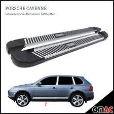 Schwellerrohre Alu Trittbretter für Porsche Cayenne 2003 - 2011 Pyramid (193)