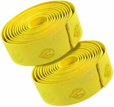 CINELLI CORK HANDLEBAR TAPE WITH END PLUGS Yellow NEW