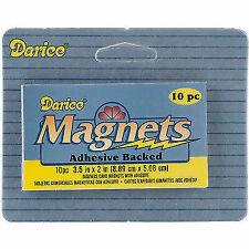 Darice Dar10757.02 Dar10757 02 Magnet Sheet Adhesive Back 2x3 5 10pc