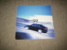 Saab 9-3 93  2.2 TiD Prospekt Brochure von 6/2001, 6 Seiten