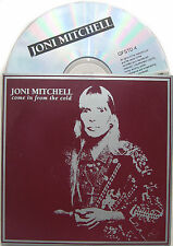 JONI MITCHELL CD Come In From The Cold 3 Track UK CD Edit / Ray's Dad's Cadillac