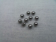 10  x 5MM SPARE SURGICAL STEEL BALLS - BELLY BAR BALLS, 1.6mm thickness