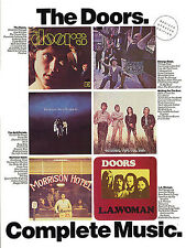 The Doors Complete Music Sheet Song Book Piano Guitar