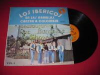 LOS IBERICOS EN LAS RAMBLAS - RARE LATIN LP COLOMBIA