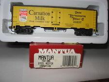 Mantua Ho Scale #733-306 Steel Reefer Carnation #23237