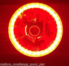 RED Halo H4 Headlights Angel Eye Holden Gemini TX TE KB Rodeo Shuttle Jackaroo