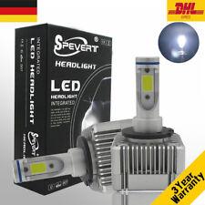 55W D1S D3S 2 Stück LED Auto Scheinwerfer Birnen Lampen 6000K für BMW Benz Audi